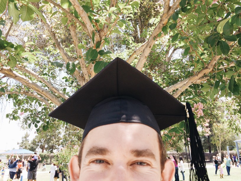 Happy graduating student with college transfer timeline